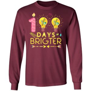 100 Days Brighter T Shirt