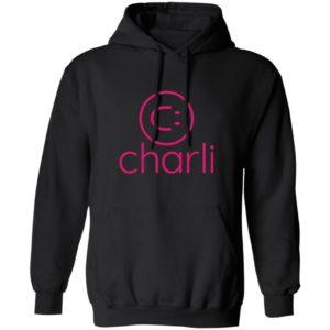 Charli Damelio Merch Charli Smile Logo Hoodie Sweatshirt